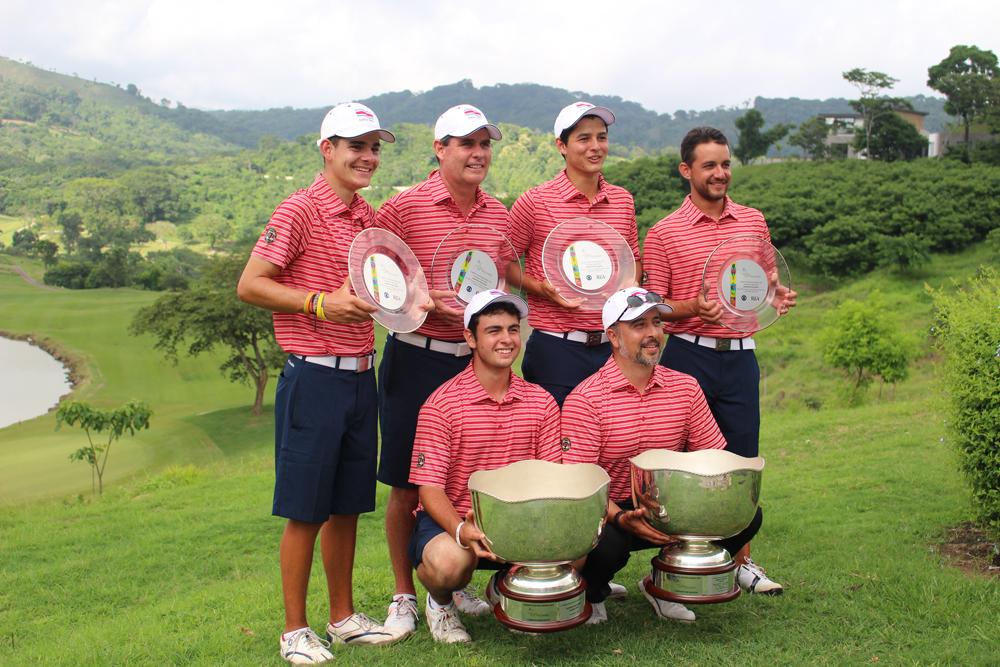 Costa Rica ganó el Abierto Centroamericano 'Copa Los Volcanes'